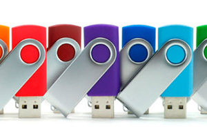 swivel memory stick