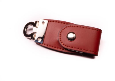 Brown Leather usb drive 351