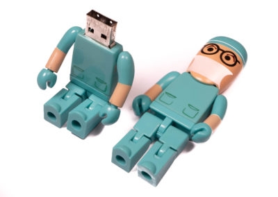 Doctor Shape Flash Drive