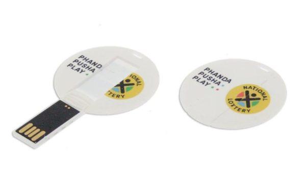 Round USB card 707
