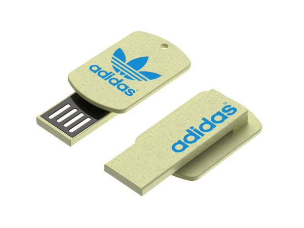 Wheat straw clip USB